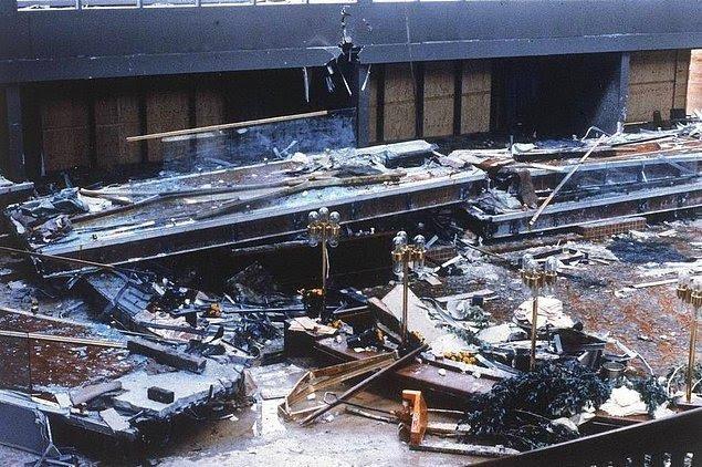 Hyatt Regency Oteli Yürüyüş Yolu Çökmesi - 1981
